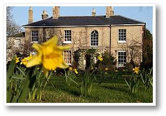 Old Rectory in Spring